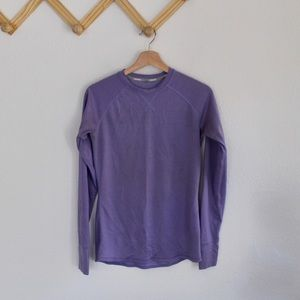 4/$25 Nike | dri fit purple long sleeve shirt